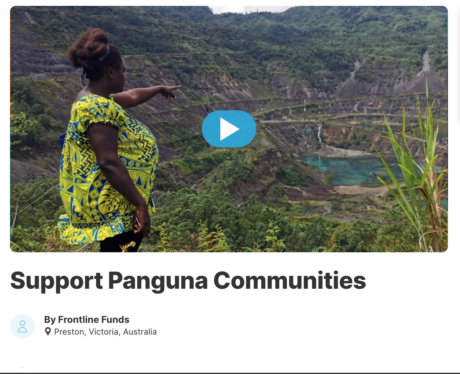 Support Panguna Communities