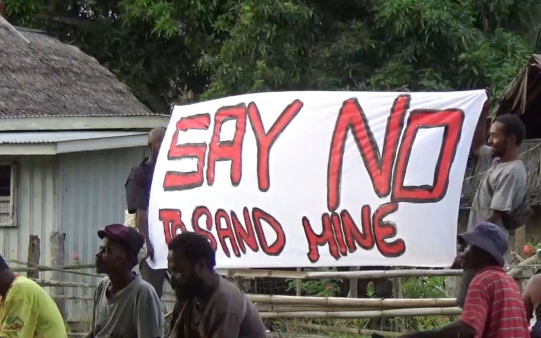 1 March 2021 – Sand mining company pulls out of Papua New Guinea